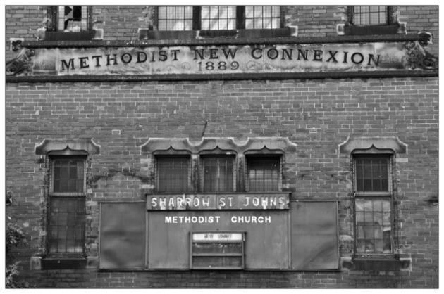 Sharrow St Johns Methodist Church.  Sheffield S7